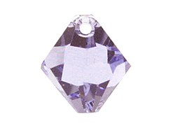 Provence Lavender - 6mm Swarovski 6301 Top Drilled Bicones Factory Pack of 360