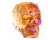 Crystal Astral Pink - 13mm Swarovski 5750 3-D Skull Bead