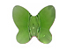 12 Fern Green - 10mm Swarovski Faceted Butterfly Beads
