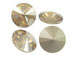 Swarovki 1122 16mm Rivoli Stones Crystal Golden Shadow