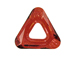 Crystal Red Magma - 20mm Cosmic Triangle - Swarovski Frames