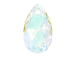 Crystal AB - 16mm Swarovski  Pear Shape Drop