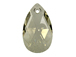 Crystal Silver Shade - 22mm Swarovski  Pear Shape Drop Factory Pack