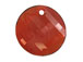 Crystal Red Magma - 28mm Swarovski  Twist Pendant
