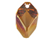 Crystal Copper - 22mm Swarovski  Cubist Pendant
