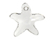 Crystal - 16mm Swarovski  Starfish Pendant