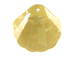 Crystal Golden Shadow - 28mm Swarovski  Sea Shell Pendant