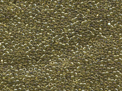50 gram   TRANS CHARTREUSE LUSTER   Delica Seed Beads11/0