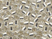 50 gram   SILVER LINED CRYSTAL  Delica Seed Beads11/0