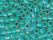 50 gram   OPAQUE TURQUOIS AB  Delica Seed Beads11/0