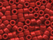 50 gram   OPAQUE DK.CRANBERRY        Delica Seed Beads11/0