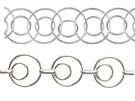 Circles Link - Sterling Silver Chains
