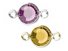 Swarovski Channel Birthstone Connectors