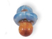 Blue Pacifier - Teeny Tiny Peruvian Ceramic Bead
