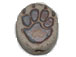 Wolf Paw  - Teeny Tiny Peruvian Ceramic Bead