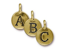 Alphabet Charms - Gold Plated