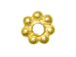 Vermeil 7mm 7dot Bright Daisy