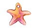 Crystal Astral Pink - 16mm Swarovski  Starfish Pendant  (*New Item*)